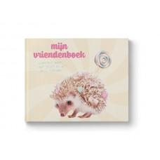 Mijn vriendenboek - egel met snoepjes